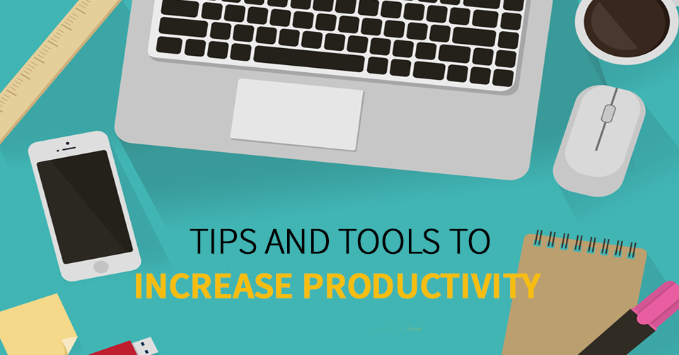 ways to increase productivity at work