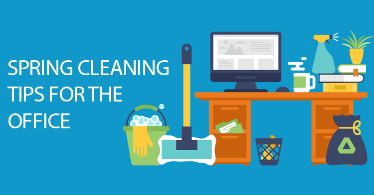 office spring cleaning tips
