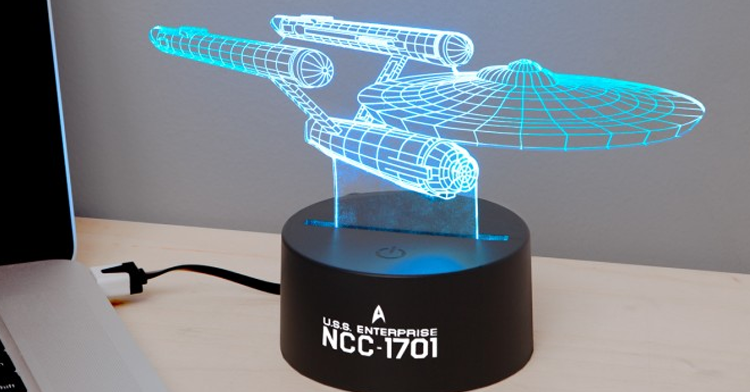 star trek led light